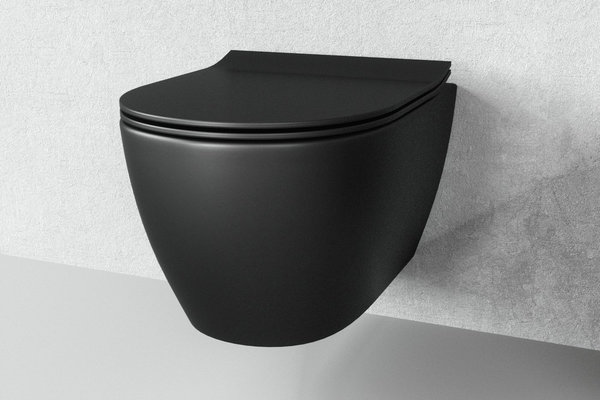BESTSELECTION-WC SCHWARZ MATT